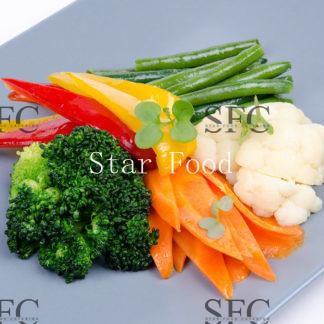 Овощной рататуй на пару