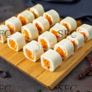 Тортилья с морковью по-корейски