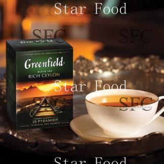 Чай черный или зеленый «Гринфилд»