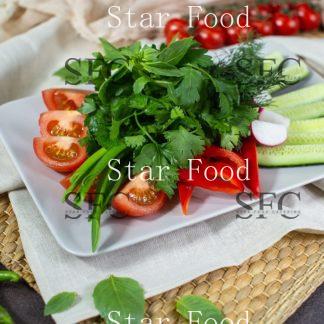 Плато из овощей