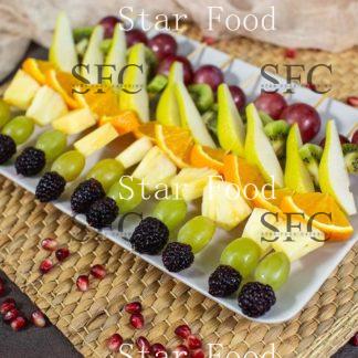 Канапе фруктовая шпажка