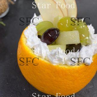 Фруктовый салат Тутти - Фрутти в апельсине