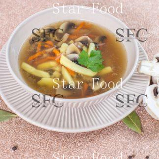 Суп лапша с грибами