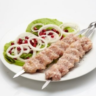 Люля-кебаб из мяса птицы