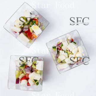 Греческий салат в верине